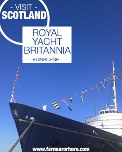 Visit the royal yacht in Edinburgh ...