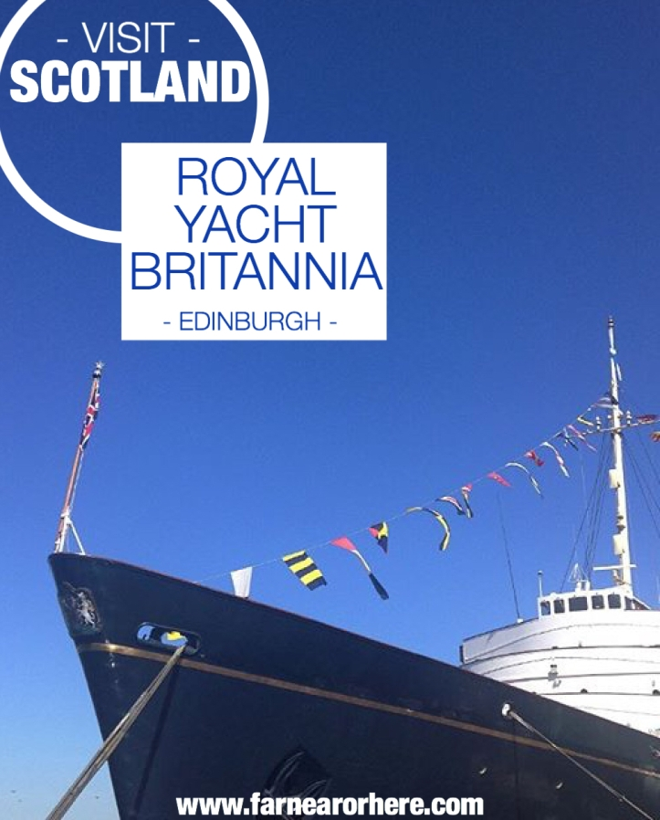 Visit the royal yacht in Edinburgh ...