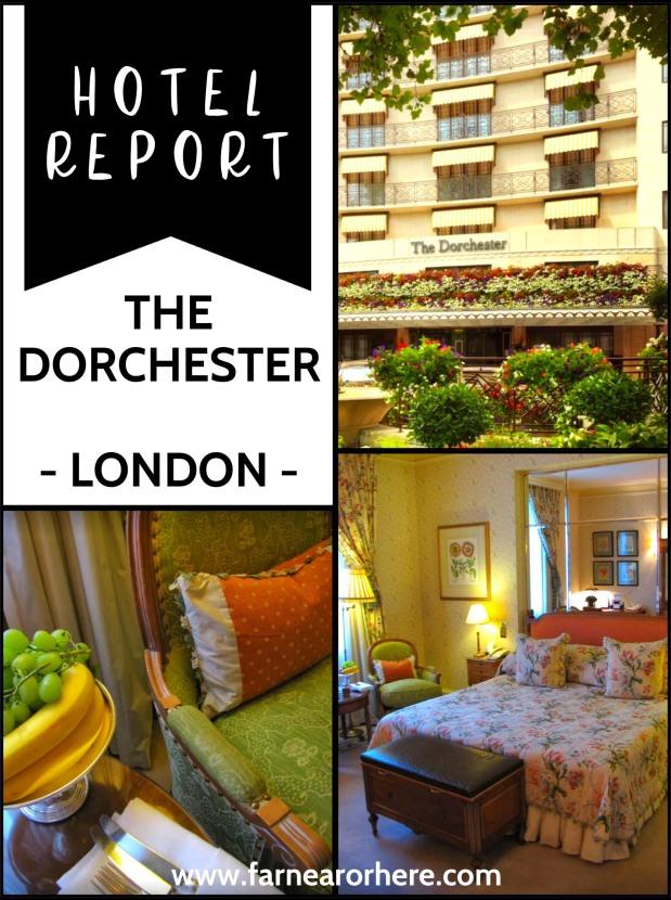 Hotel report - The Dorchester, London
