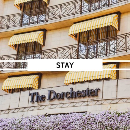 Stay at The Dorchester in London ...