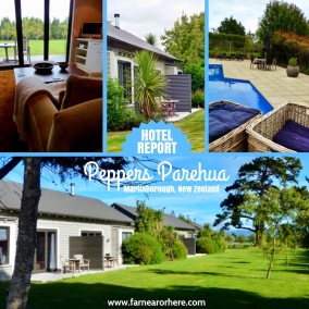 Hotel report, Peppers Parehua in New Zealand ...