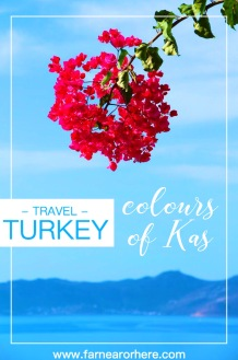 Turkey travel ... exploring the colours of Kas
