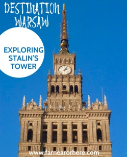 Visiting Stalin's tower in a visit to Poland's Warsaw ...
