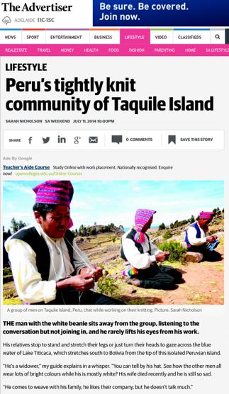 Taquile Island 1