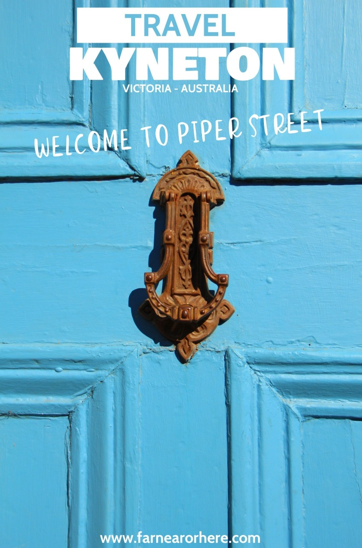 Welcome to Piper Street ... travel to Kyneton in southern Australia