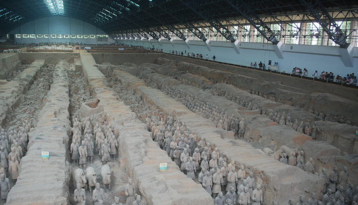 Xi'an warriors, China