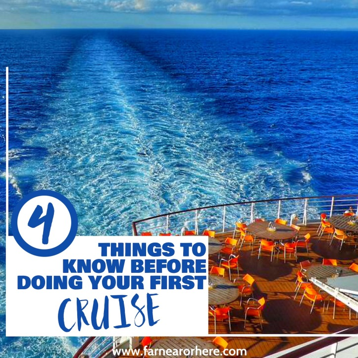 Things to know before your first cruise ...