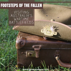 Visiting Australia's wartime battlefields ...