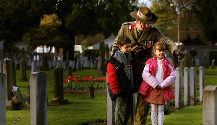Australian battlefield tourism