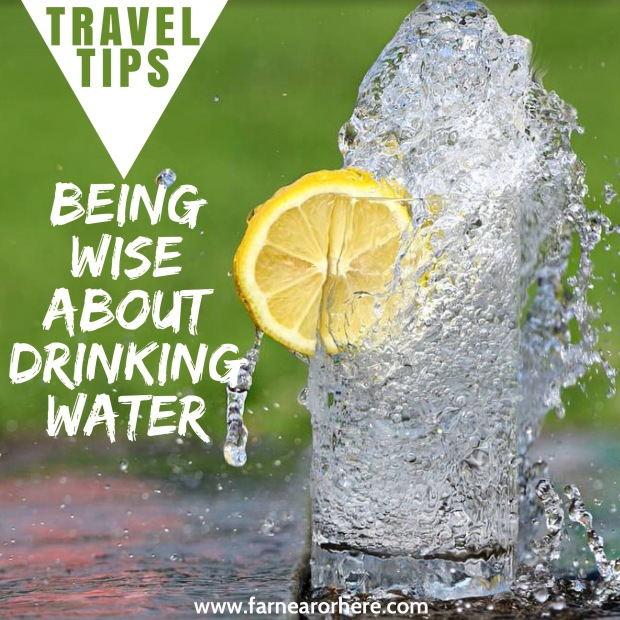 Travel tips for being water wise ...