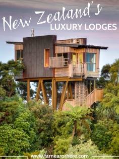 New Zealand's luxury lodges ...