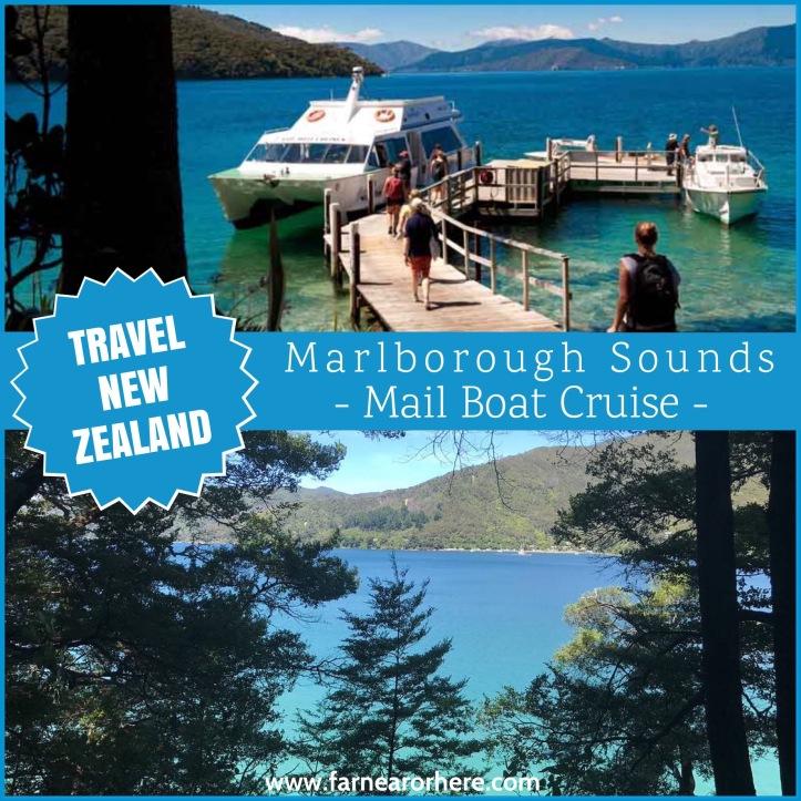 Visit New Zealand ... Marlborough Sounds Mail Run Cruise