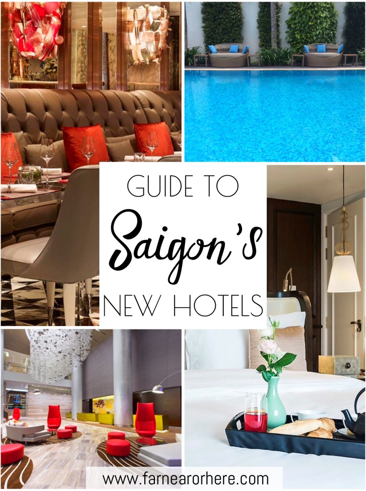 Guide to Saigon's new hotels for anyone planning visit to Vietnam's southern city...