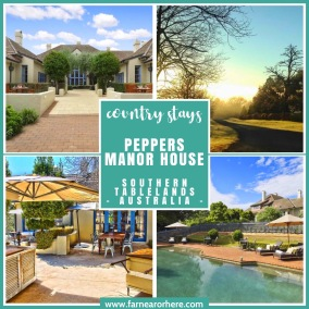 Country stays - Peppers Manor House ...