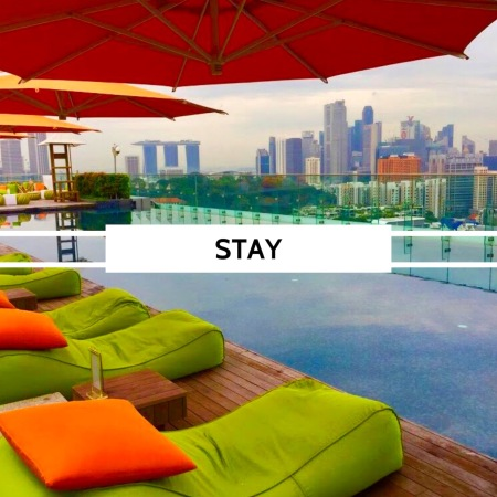 Singapore stay, Hotel Jen Orchardgateway ...