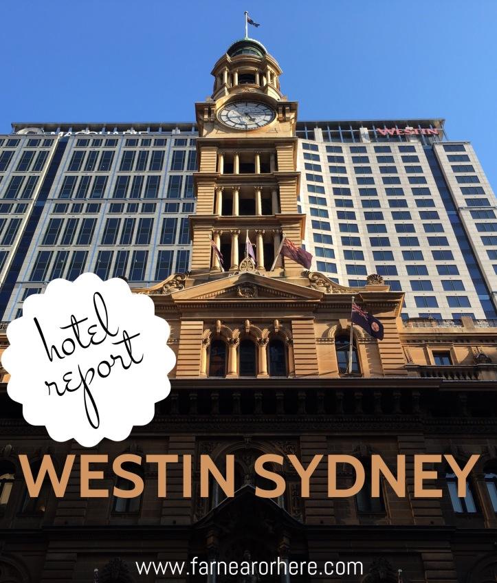 Westin Sydney, Sydney, New South Wales, Australia, hotel