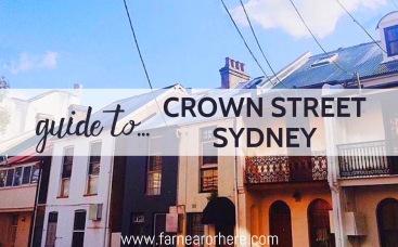Crown Street, Surry Hills, Sydney, New South Wales, Australia