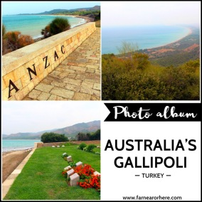 Travel photo album ... Australia's Gallipoli