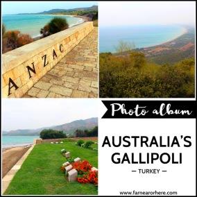 Travel photo album ... Australia's Gallipoli