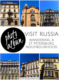 Photo album from a St Peterburg wander...
