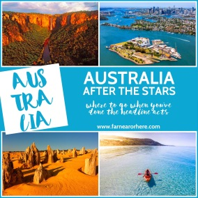 Travel Australia, what to see after the stars ...