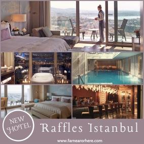 Raffles Istanbul hotel, Turkey