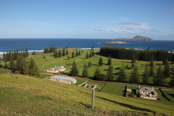Norfolk Island, South Pacific.