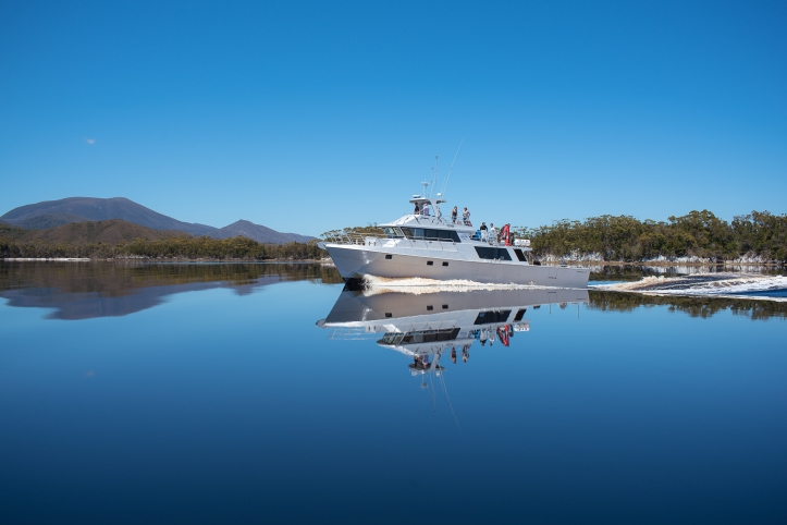 1-odalisque-cruising-the-mirrored-waters-bathurst-harbour-2