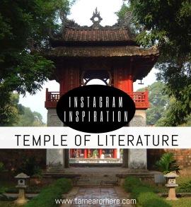 Instagram inspiration to visit Hanoi's Temple of Literature...