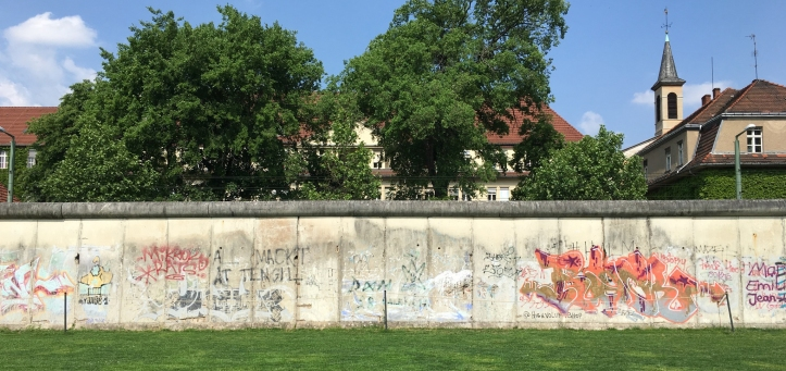 The Berlin Wall Memorial.