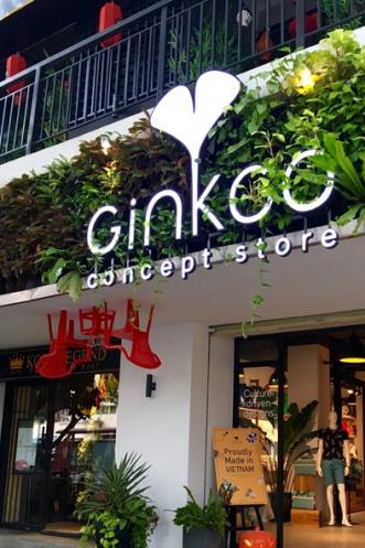 Ginkgo's flagship store in Saigon's Le Loi Street.
