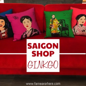 Ginkgo is one of the new shops on Saigon's Le Loi Street. (Ho Chi Minh City, Vietnam, shopping)