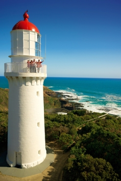 The Cape Schanck Lighthouse on Victoria's Mornington Peninsula