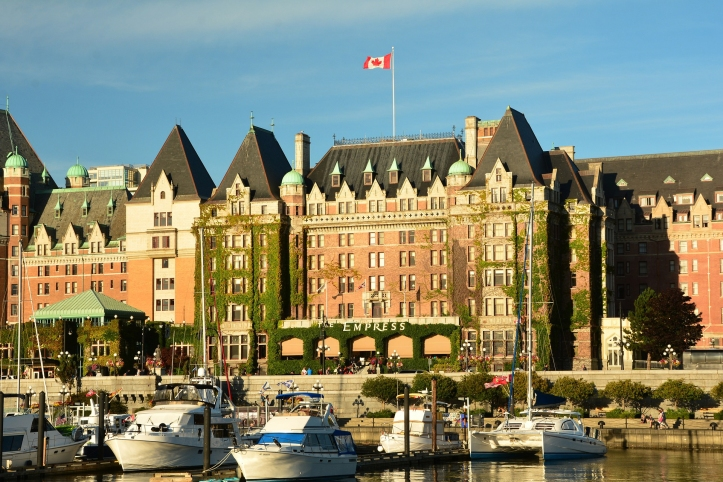 Victoria's Fairmont Empress, the place to enjoy afternoon tea on Vancouver Island.