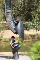 The McClelland Gallery and Sculpture Park on Victoria's Mornington Peninsula