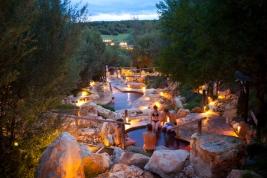 Peninsula Hot Springs on Victoria's Mornington Peninsula