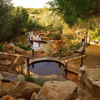 Peninsula Hot Springs onMornington Peninsula