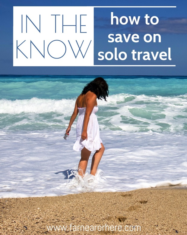 How to save travelling solo...