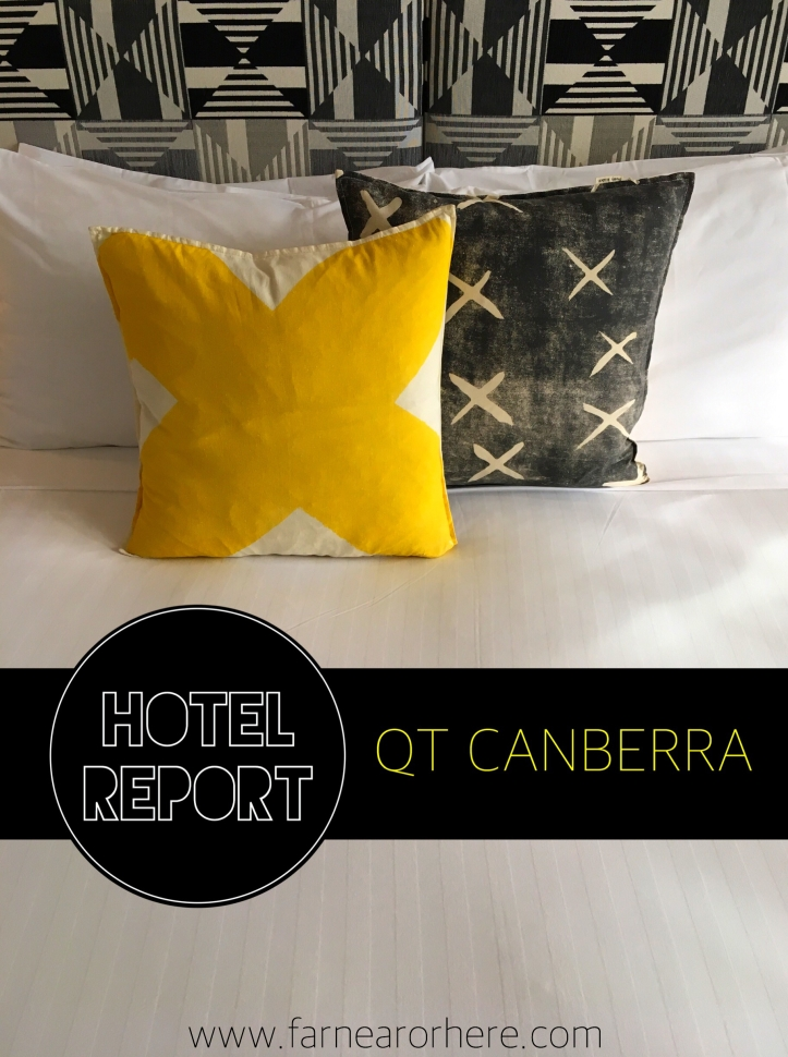 Catch a cool hotel stay at QT Canberra ...