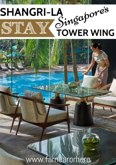 Stay at the Shangri-La Singapore's renovated Tower Wing...