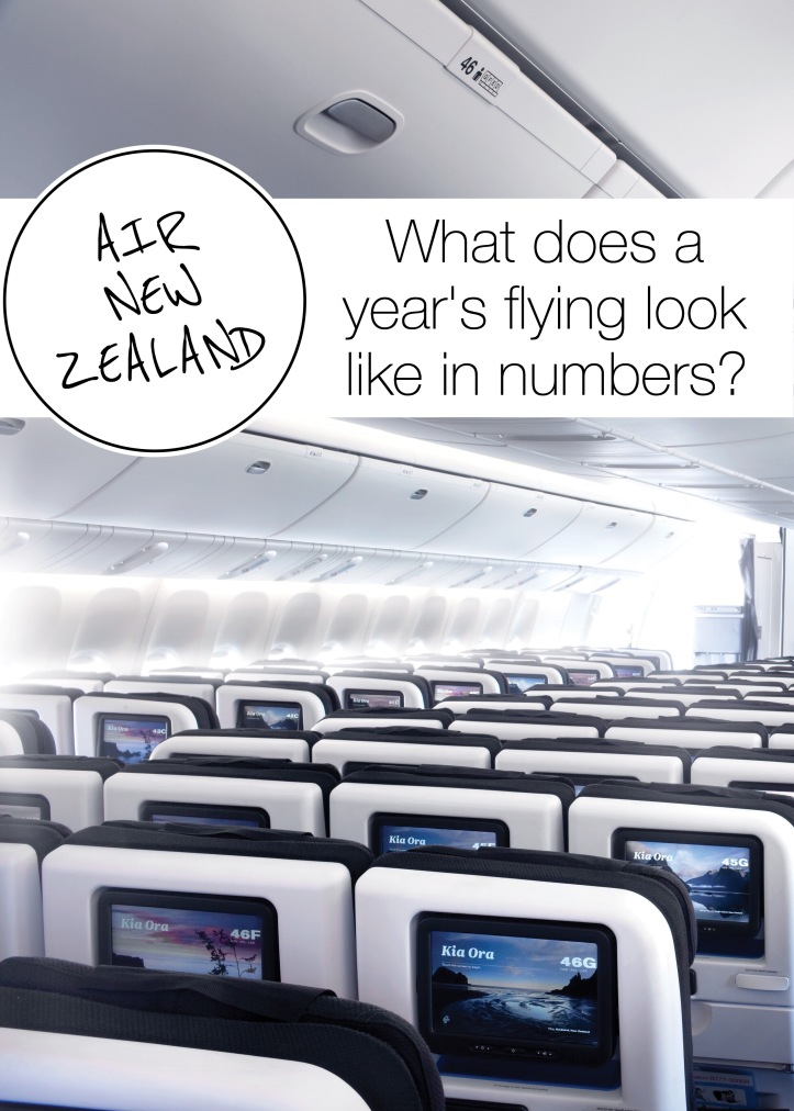 Air New Zealand shoes us the numbers ...