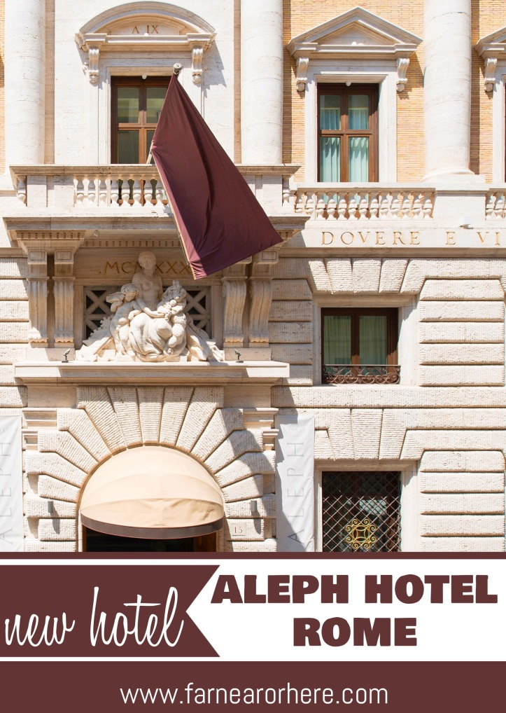 Discover Rome's newest hotel ...