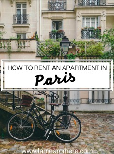 How to rent an apartment in Paris ...