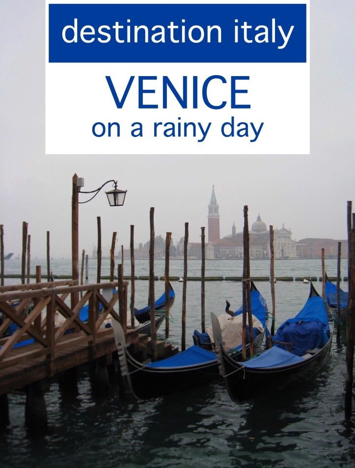 Exploring Italy's Venice on a rainy day...