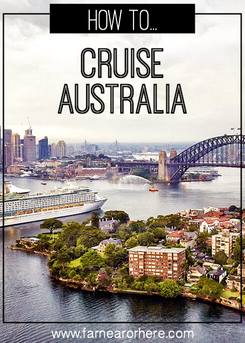 How to see Australia by cruise ship...