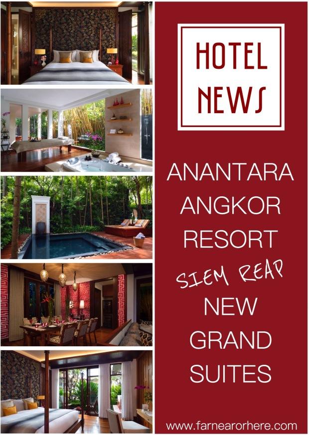 Stay in  new Suite at Siem Reap's Anantara Angkor Resort...