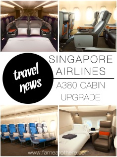 Singapore Airlines' new look A380 cabins...