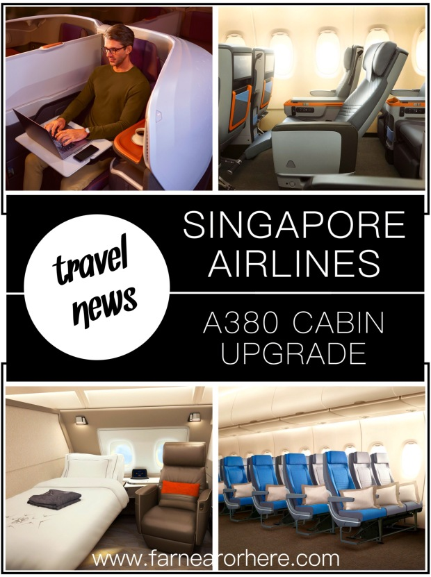 Singapore Airlines' new A380 cabin...