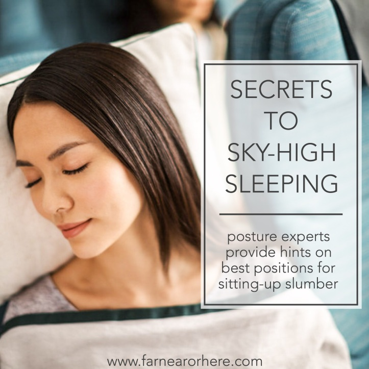 Secrets to sleeping on planes...