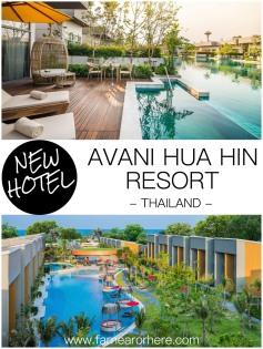 Thailand's beachside Hua Hin welcomes new AVANI resort...